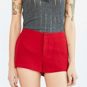 Alice & UO red Ellis short by Urban Outfitters